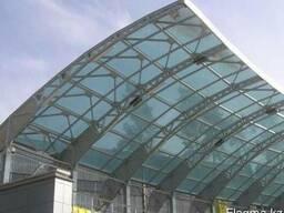 Купить сотовый и монолитный поликарбонат длятеплиц и навесов