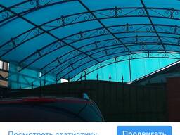Поликарбонат сотовый прозрачный - фото 3