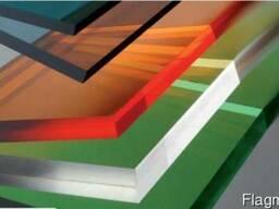 Поликарбонатные панели для навесов, теплиц