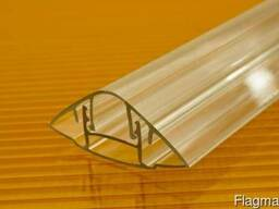 Поликарбонатные Стыковочные профиля H-6 метровые со склада!