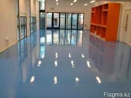 Полимерные наливные полы для торговых центров и офисов