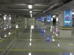 Полимерные полы для паркингов
