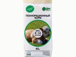 Полнорационный комбикорм для телят 6-12 мес. Откорм КК 60-4