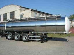 Полуприцеп-цистерна - для перевозки химических продуктов