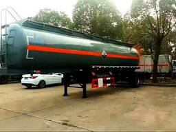 Полуприцеп-резервуар для перевозки жидкого, азота