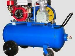 Поршневой бензиновый компрессор КБ8М