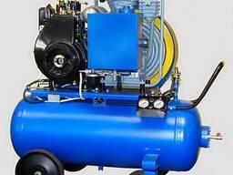Поршневой дизельный компрессор КД9 (передвижной)