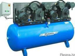 Поршневой компрессор с электродвигателем Ремеза