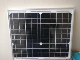 Портативная переносная солнечная система на 10Вт
