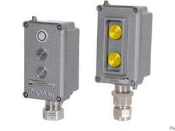 Посты взрывозащищенные кнопочные ПВК-ПК из алюминия или плас
