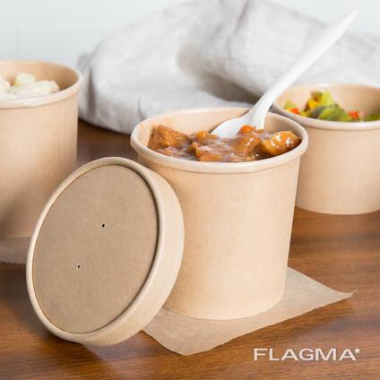 Одноразовая ЭКО упаковка, посуда и столовые приборы