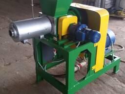 Пресс для переработки сельхоз. отходов в топливные брикеты