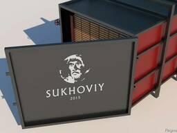 """Пресс вакуумная сушильная камера для дерева """"Sukhoviy Vac 3"""""""