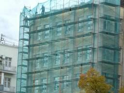Притеняющая сетка Сетка фасадная для защиты строит лесов