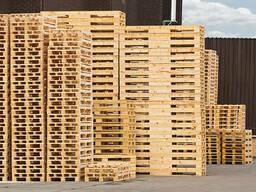 Продаем деревянные поддоны б/у.