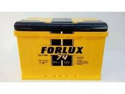 Продается аккумулятор марки Forlux 75 A/h