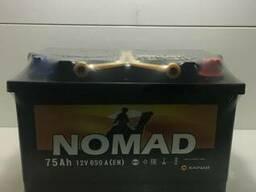 Продается аккумулятор марки NOMAD 70 A/h