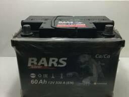 Продается б/у аккумулятор марки Барс, 60 A/h