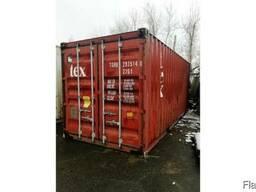 Продам контейнеры 20 - футовые. Казахстан, г. Костанай. - фото 2