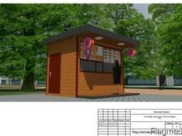 Проектирование павильонов