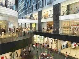 Проектирование торговых зданий и сооружений, магазинов.