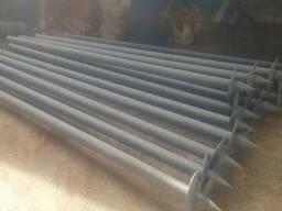 Производим стальные винтовые свай 57, 76, 89, 108, 133