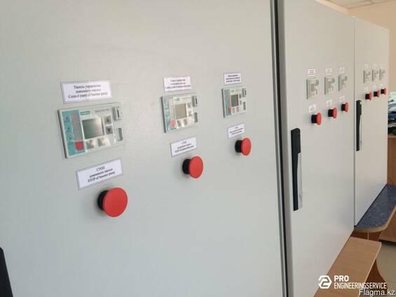 Производство и сборка шкафов управления и автоматики, АСУТП