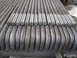 The curved Foundation bolts, type 1, 1-1, 2 GOST 24379. 1-80