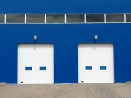 Промышленные секционные ворота Doorhan (Россия)
