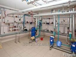 Промывка и опрессовка системы отопления - фото 1