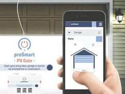 Управление воротами со смартфона PS Gate Pro Smart