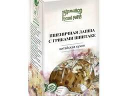 Пшеничная Лапша с Грибами Шиитаке (Гурмайор Кухни мира)