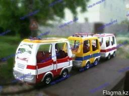 R-KIDS: Детский аттракцион электрический паровоз/паровозик/п