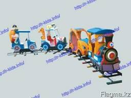 R-KIDS: Детский аттракцион железная дорога. KAP-010