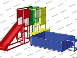 R-KIDS: Детский игровой комплекс для детей KDK-036