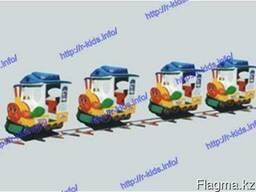 R-KIDS: Электрический аттракцион паровозик для парков и ТРЦ