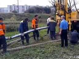 Работы по электрохимзащите трубопроводов, резервуаров и т.д.
