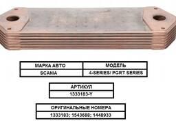 Радиатор масляный (маслоохладитель) на / для scania, скания