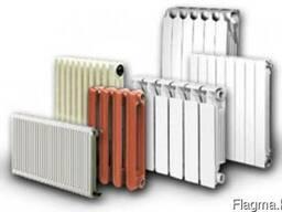 Радиаторы чугунные биметаллические алюминивие