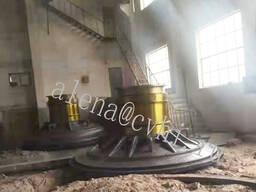 Разгрузочная и загрузочная крышка стенка Шаровой мельницы - фото 1