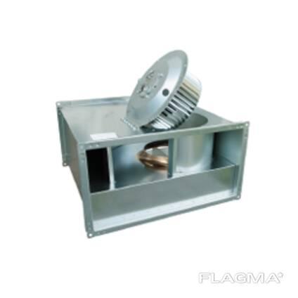 Rectengular duct type fans