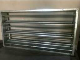 Решётки вентиляционные жалюзинные 1240*640