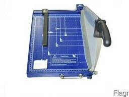 Резак для бумаги 928-3 А4 синий шторка-фиксатор пластик (8 b