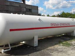 Резервуары наземного размещения для хранения СУГ-100м3 (с. ..