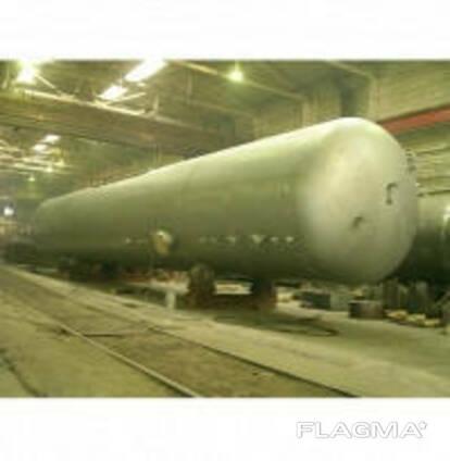 Резервуары наземного размещения для хранения СУГ-50м3 (с. ..