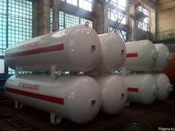 Резервуары СУГ (газгольдеры) промышленные от производителя