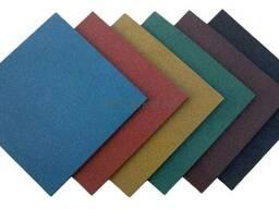 Резиновая плитка Rubblex, толщина 6-30 мм