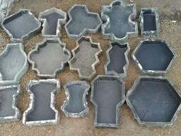 Резиновые формы для производства брусчатки