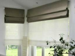 Римские шторы, жалюзи, ролл-шторы, рольставни