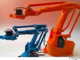 Робот манипулятор/разработка и программирование/3д печать